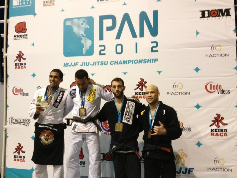 Podium 2012 Pan